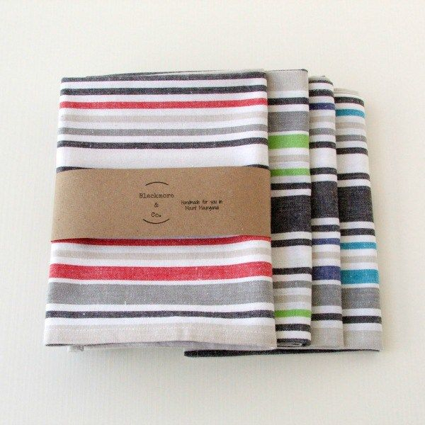 Stripped Cotton Tea Towels