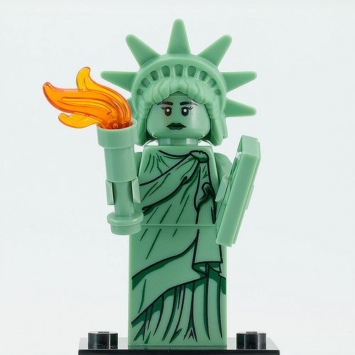 Lego Minifigures Series 6 Lady Liberty