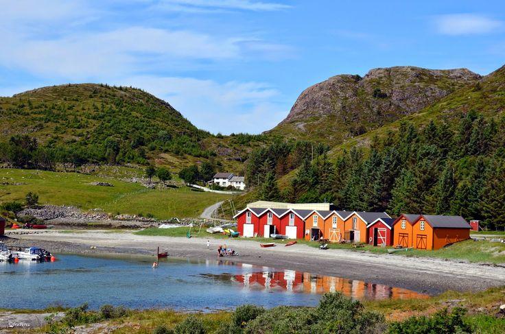 Stokkøya Sjøsenter og Strandbaren, Trøndelag, Norway