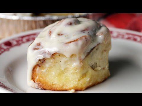 Cinnamon Rolls caseritos receta video   con HOY Alimentos