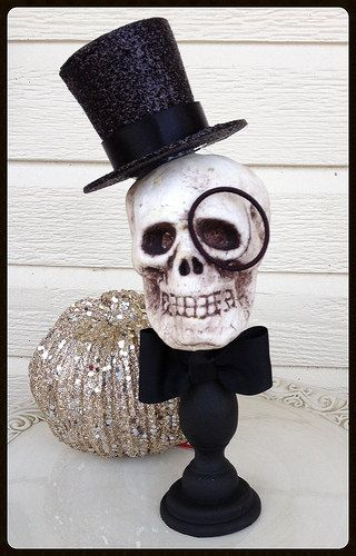 The Count:  A Whimsical Halloween Decoration Halloween by JeanKnee