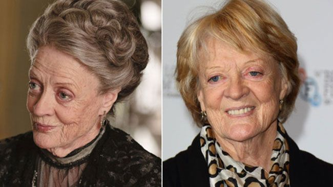 Maggie Smith, Downton Abbey http://www.transitionshair.com.au/transitions-blog/article/tv-stars-who-wear-wigs/