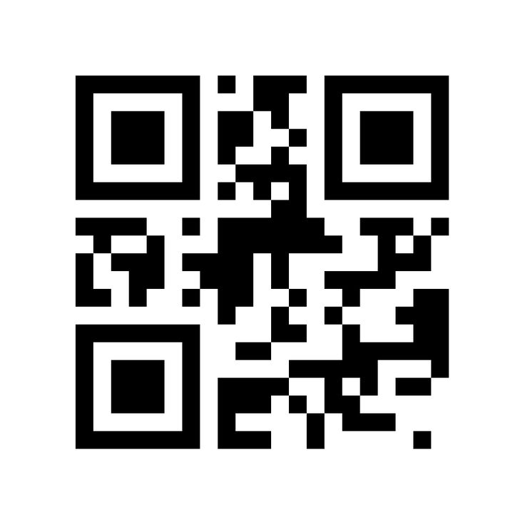 qr code business card on phone
