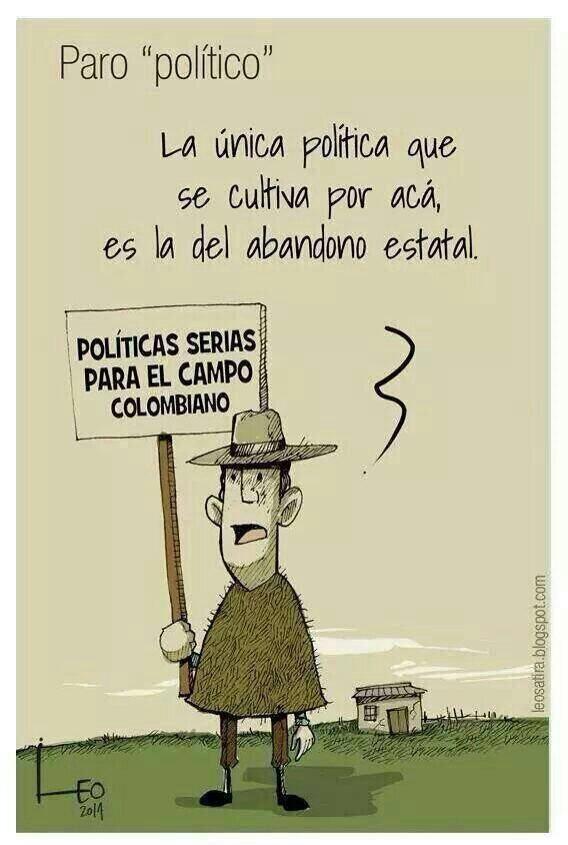 Políticas serias para el campo ... #ParoAgrario