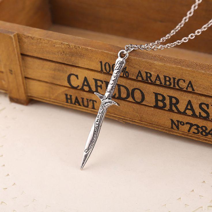 Ожерелье вк хоббит бильбо бэггинс меч стинг меч фродо и налет подарков