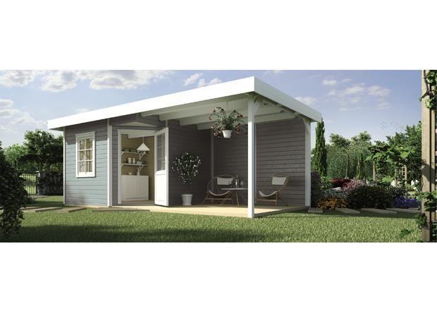 ber ideen zu flachdach gartenhaus auf pinterest. Black Bedroom Furniture Sets. Home Design Ideas