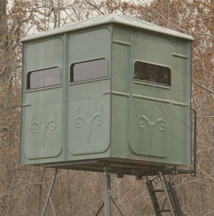 Redneck Blinds' hunting equipment, hunting supplies, enclosed tree stands and portable hunting blinds are all made with the highest quality materials.