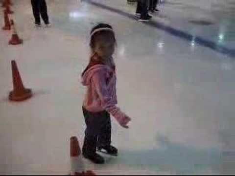 Clié Pan's First Ice Skate SessionClié Pan, Kids Clié, Ice Skating, Skating Session