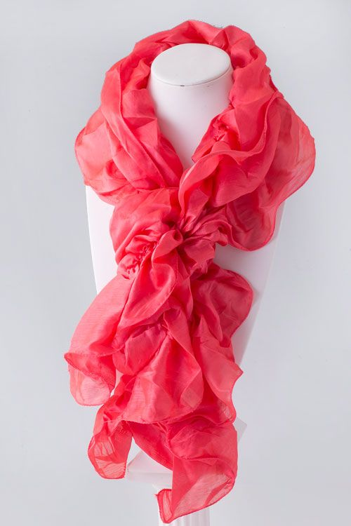 great color, great scarf!