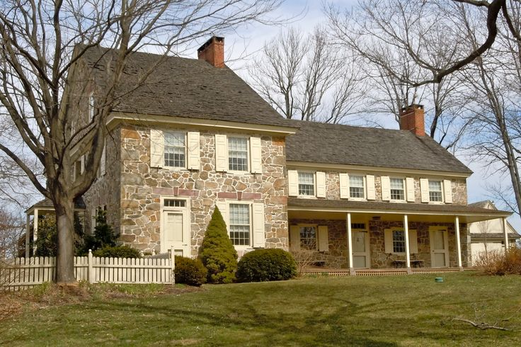 43 best stone farmhouse images on pinterest stone homes for Pennsylvania stone farmhouses