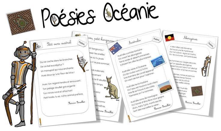 Poésies : L'Australie - Bout de gomme