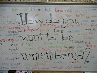 'YourKids' Teacher: Erasing Meanness  Great activity toward the end of the year!