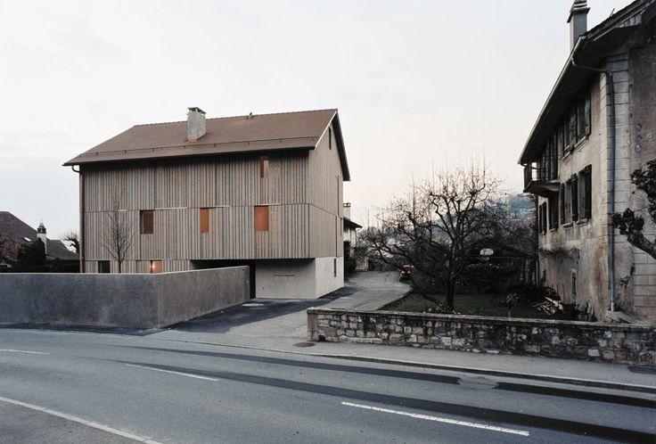 Rapin Saiz Architectes · Maison de village