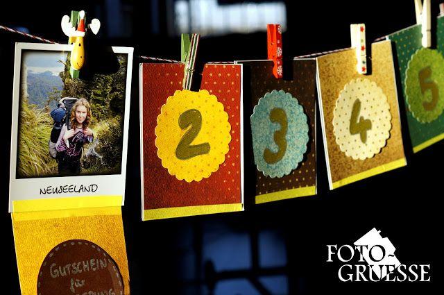 Fotogruesse: Vorfreude #3b: DIY: Foto-Advents-Kalender