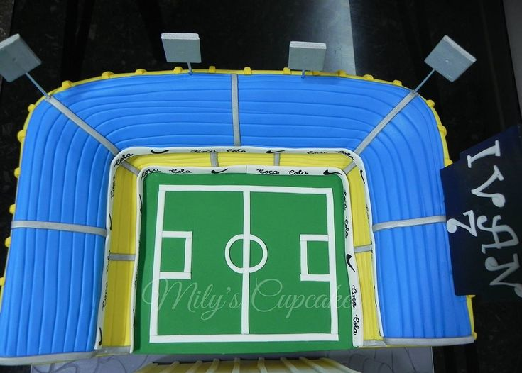 Estadio Boca Jrs Cake 3D