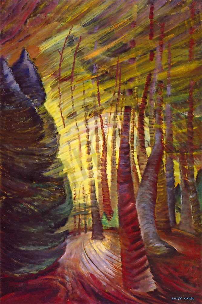 Emily Carr - Sombreness Sunlit 1940