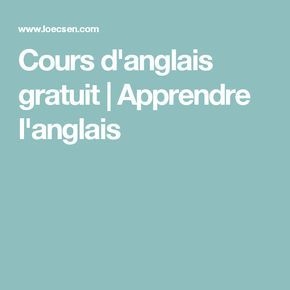 les 25 meilleures id es de la cat gorie apprendre l 39 anglais sur pinterest anglais liste des. Black Bedroom Furniture Sets. Home Design Ideas