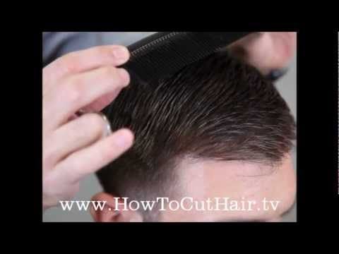 This is a good tutorial for mens clipper cuts with multiple hair styles/types. The first one is a shorter version of his style!