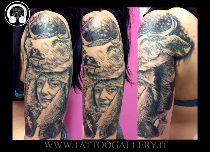 tatuaggi ritratti by Andrea Tartari