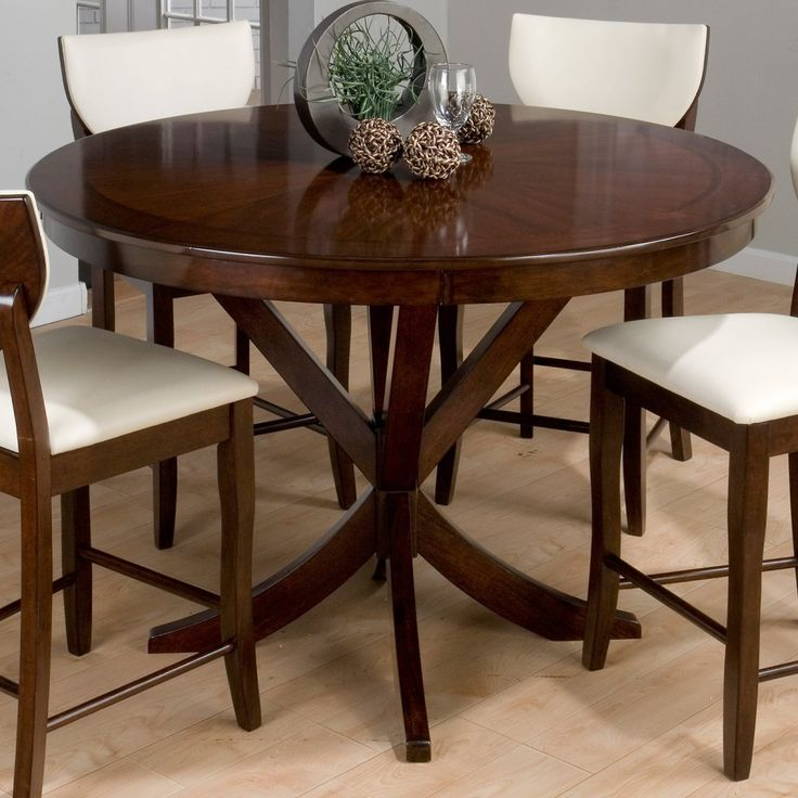 Jofran Chadwick Counter Height Table With Corner Bench And: Jofran Satin Street Counter Height Round Dining Table