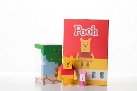 Geekstra.com'dan MOMOT Disney Paper Toyz! Pooh & Piglet