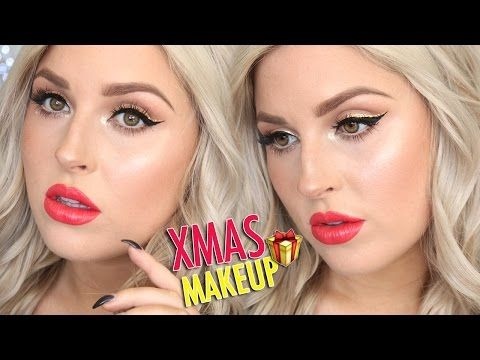 Festive Makeup Tutorial & Gift Ideas! ♡ Gift Guide For Him & Her! - YouTube