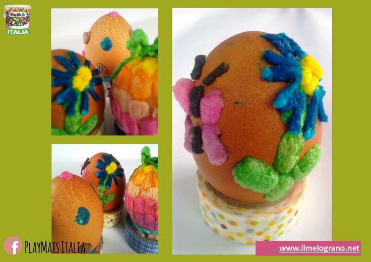 Easter Eggs con Playmais! https://www.facebook.com/Playmais.italia?fref=ts