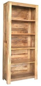 Light mango wood bookcase (Large) from Scape Interiors West