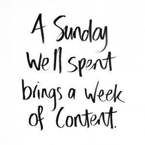 A Sunday well spent...  Love a good Sunday