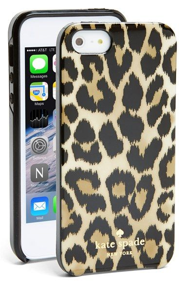 kate spade new york 'leopard ikat' iPhone 5 & 5s case available at #Nordstrom
