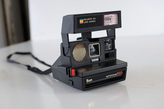 Polaroid Sun 660 Auto Focus Camera  Instant by TheHeartTheHome