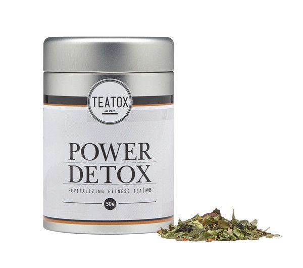 O Power Detox contém a quantidade certa de ingredientes orgânicos que irão ajudar a recuperar os níveis de energia, ficar em forma e eliminar toxinas.  Sinta-se em forma e saudável!  Ingredientes: Limonete, rooibos verde, chá verde sencha, guaraná, aronia, folhas de urtiga, cardamomo, pimenta caiena.  * todos os ingredientes são provenientes de agricultura biológica.  50g
