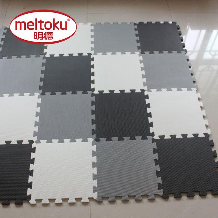 明徳赤ちゃんevaパズルマット用キッズ/連動エクササイズタイル床カーペット敷物、各30 × 30センチ、18または24ピースでバッグ