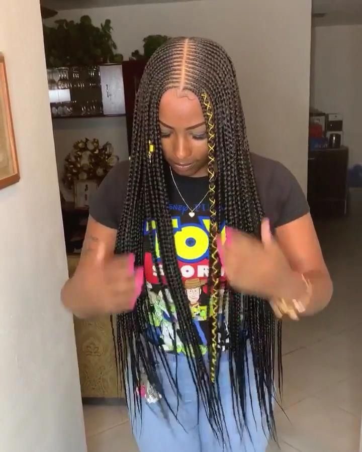 85 Box Braids Hairstyles For Black Women In 2020