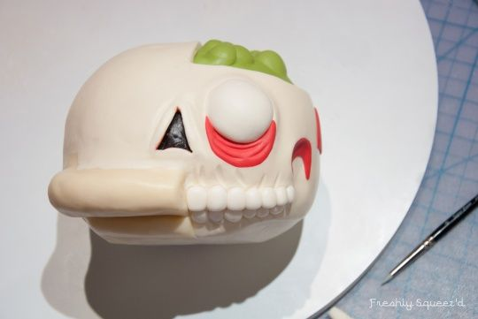 My Friend's Ralph Wiggum Cut-Out Cake