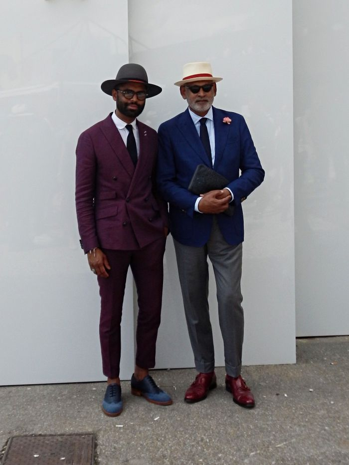 Fine men wear their tailoring and accessories right #pittiuomo #style #mensfashion