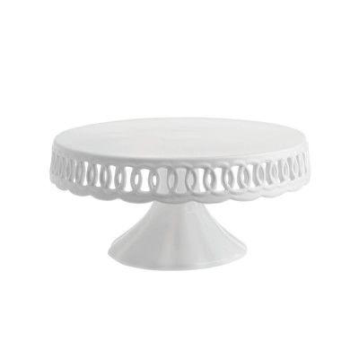 La Porcellana Bianca Firenze Cake Plate with Stand #williamssonoma