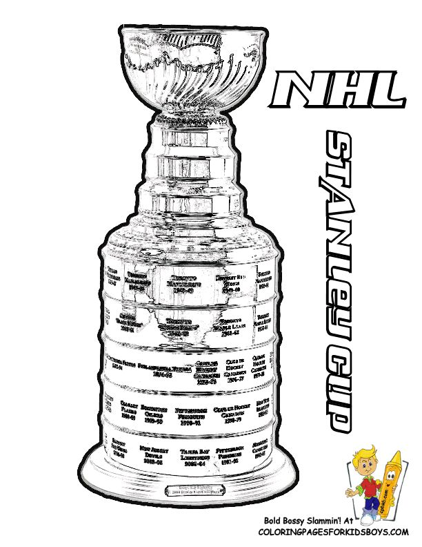 9 best Colouring pages hockey images on Pinterest Coloring books - new coloring page of a hockey player