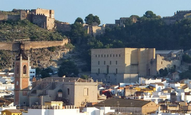 Teatro Romano and Castillo de Sagunto, Valencia Spain