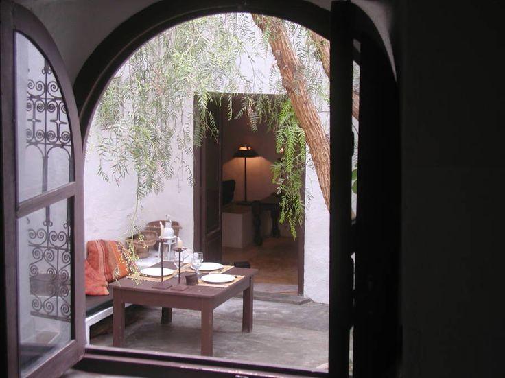 Sjekk ut dette utrolige stedet på Airbnb: maison  traditionnelle patio arboré - Hus til leie i Sidi Ifni