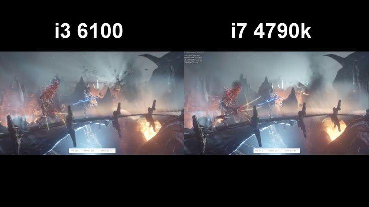 i3 6100 vs 4790k Gaming Benchmarks