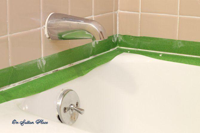 Simple steps to caulk a bathtub -- or anything else!