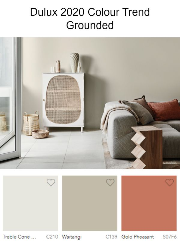 Interior Color Trend 2020 Grounded Interiordesign Color