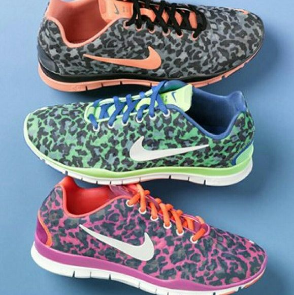 Pink leopard nike free 5.0 sneakers Got new running shoes so dont need this one anymore. These are hard to find and will make you stand out in the gym! Still in really good condition and are lightweight. Great shoes for working out! Make an offer! Nike Shoes Athletic Shoes