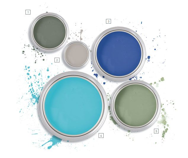 An dyes....I desing rooms around a color also! The Intersection of Art, Paint and Design
