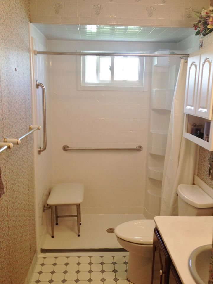 Tub Shower Remodel Into An