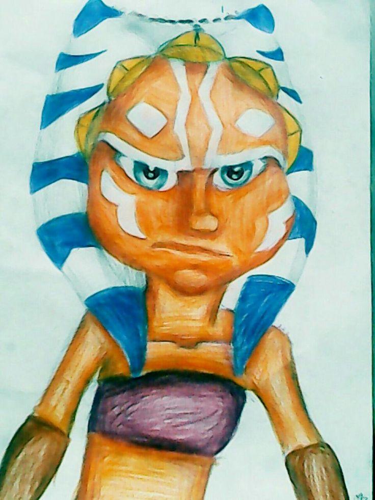 Little Ahsoka Tano/Star Wars