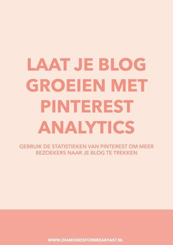 Met Pinterest kun je ontzettend veel extra bezoekers naar je blog trekken – zeker als je je een beetje verdiept in Pinterest Analytics. In dit artikel leg ik uit hoe Pinterest Analytics werkt en hoe je de cijfers kunt gebruiken om je blog te laten groeien.