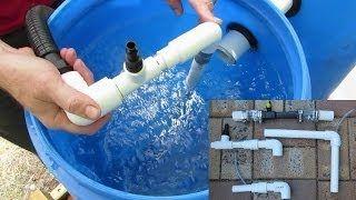 Diy Venturi Rob Bob Youtube Aquaponics Pinterest