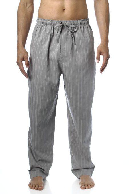 Noble Mount Herren Schlafanzughose Comfort-Fit